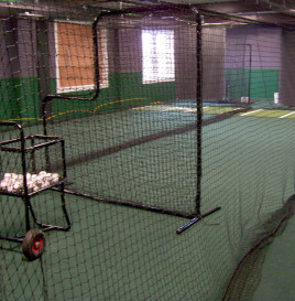 Self-Pitch Batting Cage